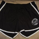 Crestridge Black Running Shorts