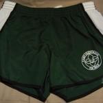 Crestridge Green Running Shorts