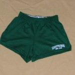 Green Cotton Shorts