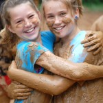 At the mudpit