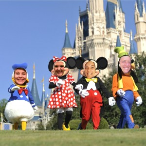 Camp at Disney World